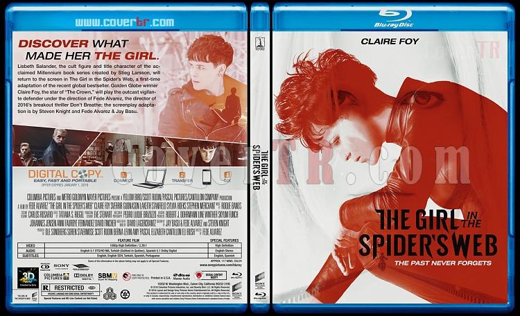 The Girl in the Spider's Web (Örümcek Ağındaki Kız) - Custom Bluray Cover - English [2018]-1jpg