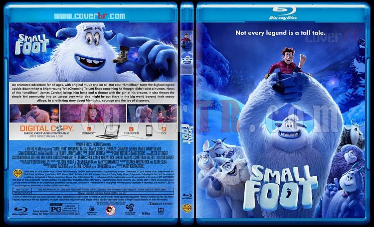 Smallfoot (Küçük Ayak) - Custom Bluray Cover - English [2018]-3jpg