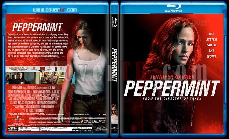 Peppermint (İntikam Meleği) - Custom Bluray Cover - English [2018]-2jpg