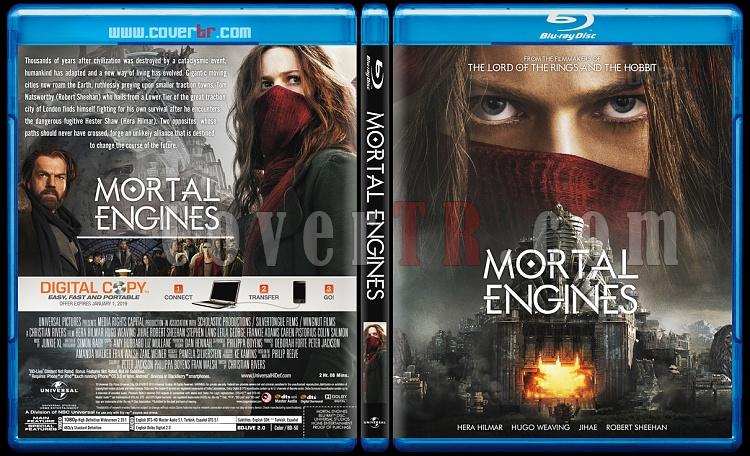 Mortal Engines (Ölümcül Makineler) - Custom Bluray Cover - English [2018]-1jpg
