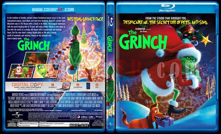 The Grinch (Grinç) - Custom Bluray Cover - English [2018]-3jpg