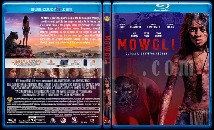 Mowgli: Legend of the Jungle (Mogli: Orman Çocuğu) - Custom Bluray Cover - English [2018]-2jpg