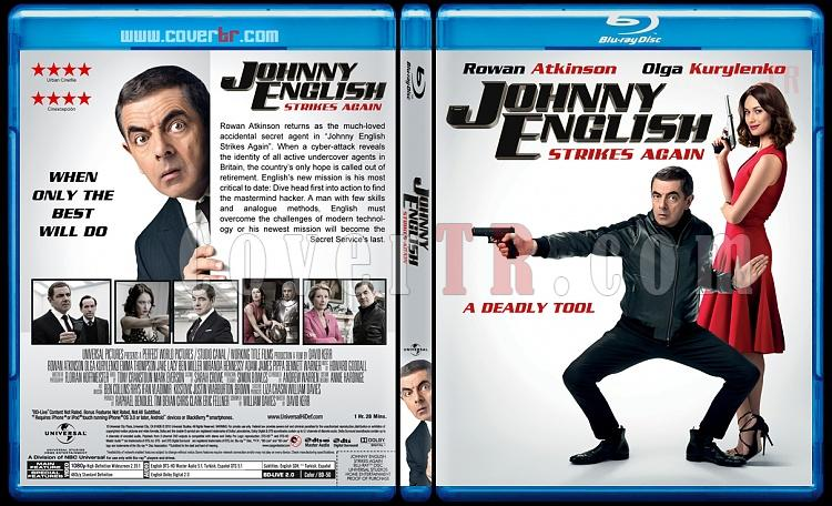 Johnny English Strikes Again (Johnny English Tekrar İş Başında) - Custom Bluray Cover - English [2018]-1jpg