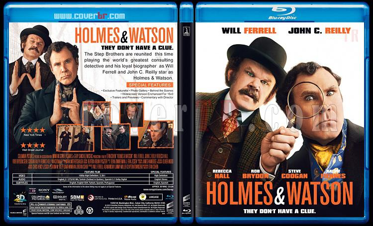 Holmes & Watson - Custom Bluray Cover - English [2018]-4jpg