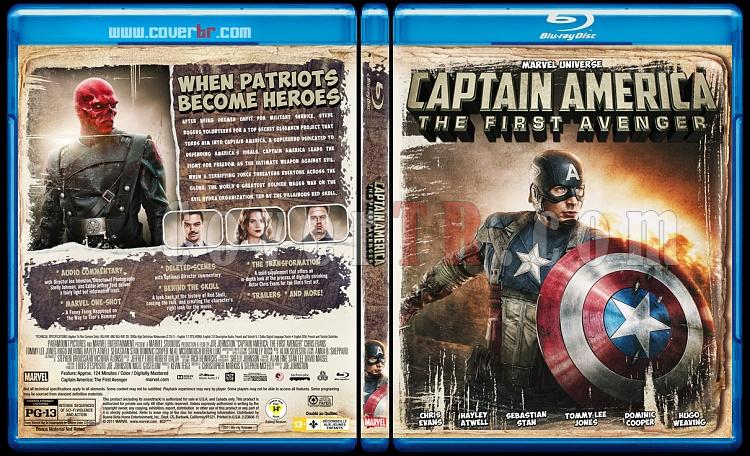 Captain America: The First Avenger - Custom Bluray Cover - English [2011]-1jpg