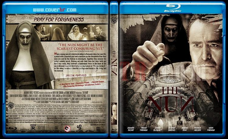The Nun - Custom Bluray Cover - English [2017]-02jpg