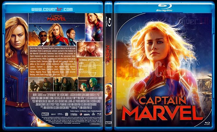 Captain Marvel - Custom Bluray Cover - English [2019]-01jpg