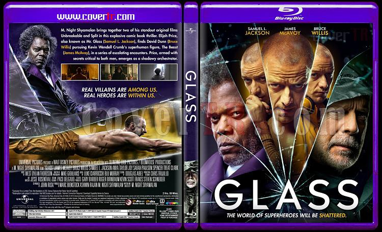 Glass - Custom Bluray Cover - English [2019]-01jpg