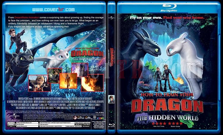How to Train Your Dragon: The Hidden World (Ejderhanı Nasıl Eğitirsin: Gizli Dünya) - Custom Bluray Cover - English [2019]-02jpg