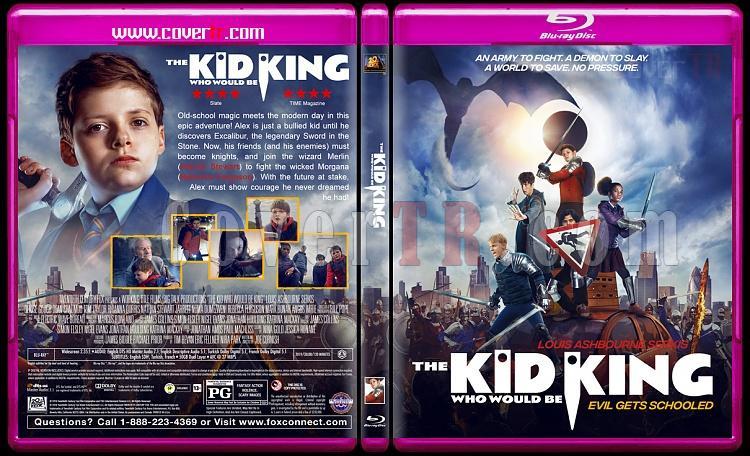 The Kid Who Would Be King (Kral Olacak Çocuk) - Custom Bluray Cover - English [2019]-03jpg