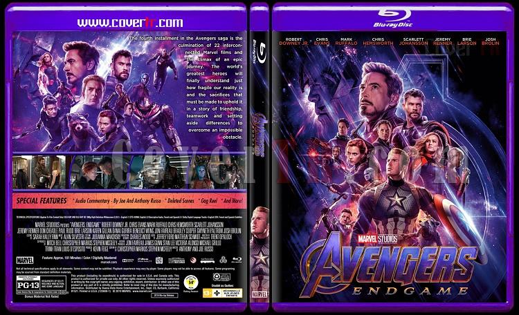 Avengers Endgame Custom Bluray Cover English 2019 Covertr