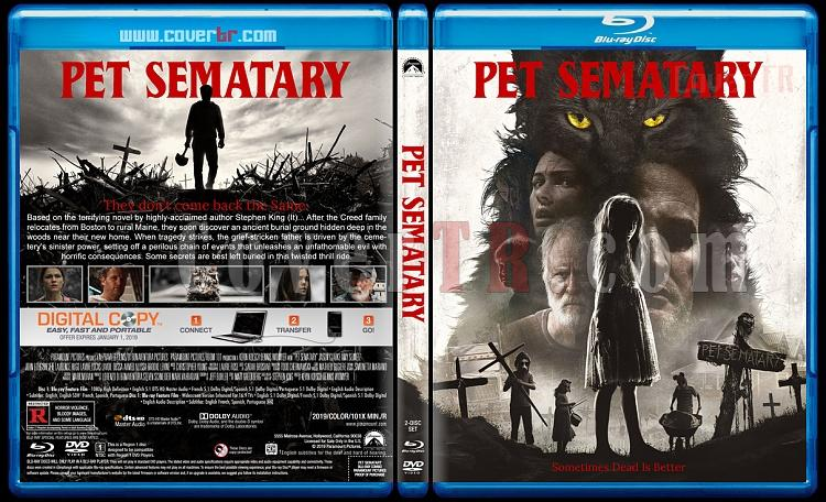 Pet Sematary (Hayvan Mezarlığı) - Custom Bluray Cover - English [2019]-2jpg