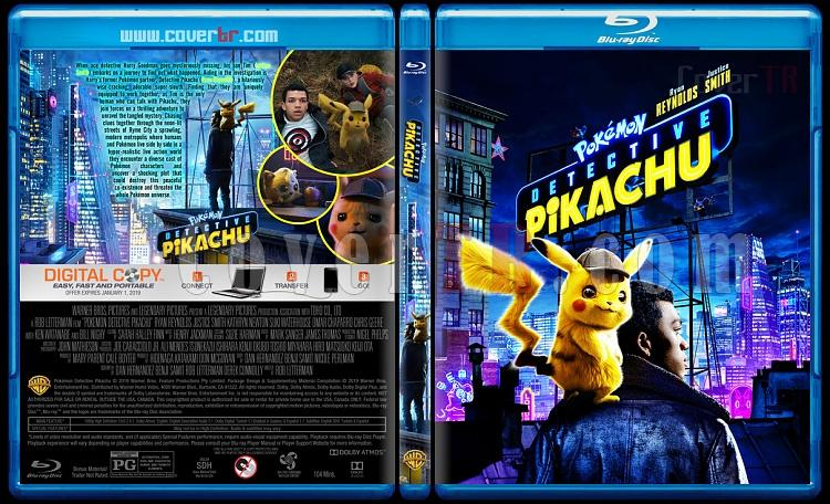Pokémon Detective Pikachu - Custom Bluray Cover - English [2019]-3jpg