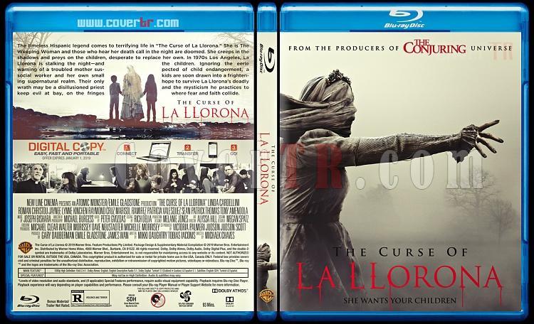 The Curse of La Llorona (Lanetli Gözyaşları) - Custom Bluray Cover - English [2019]-03jpg