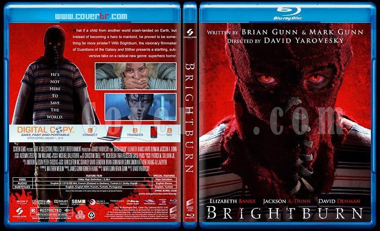 Brightburn (Şeytanın Oğlu) - Custom Bluray Cover - English [2019]-02jpg