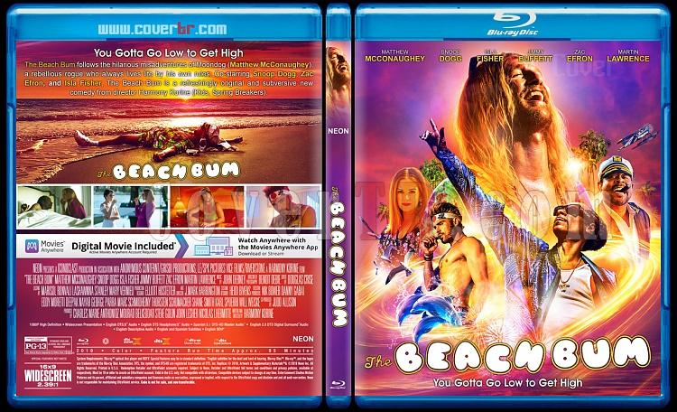 The Beach Bum - Custom Bluray Cover - English [2019]-01jpg