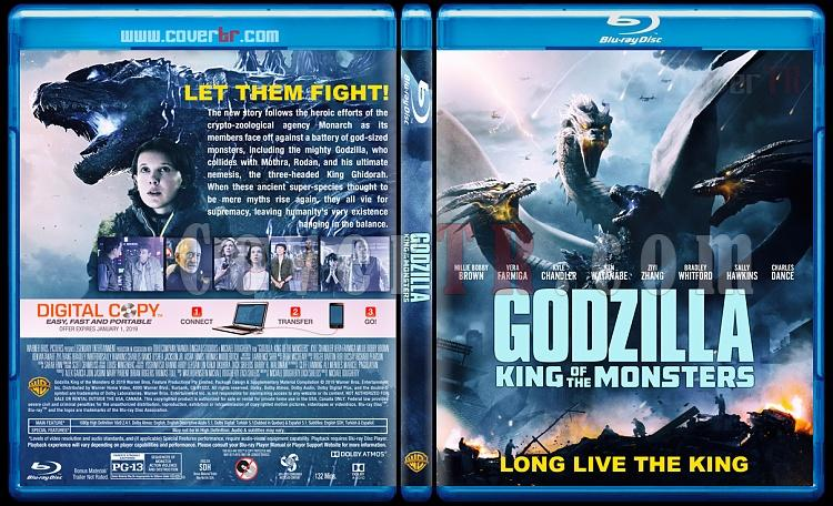 Godzilla: King of the Monsters (Godzilla II: Canavarlar Kralı) - Custom Bluray Cover - English [2019]-02jpg