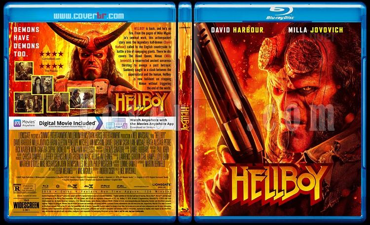 Hellboy - Custom Bluray Cover - English [2019]-01jpg