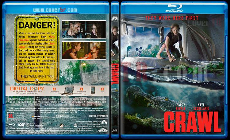 Crawl (Ölümcül Sular) - Custom Bluray Cover - English [2019]-03jpg