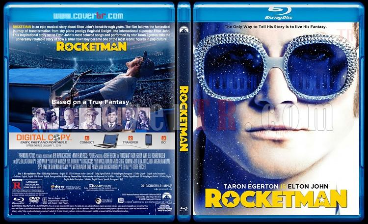 Rocketman - Custom Bluray Cover - English [2019]-02jpg