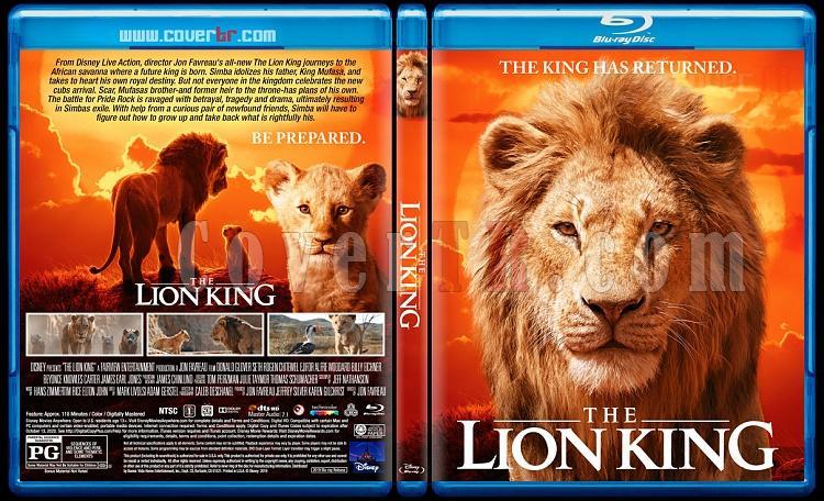 The Lion King Aslan Kral Custom Bluray Cover English