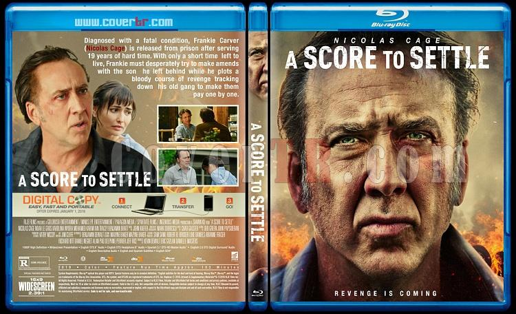 A Score to Settle - Custom Bluray Cover - English [2019]-1jpg