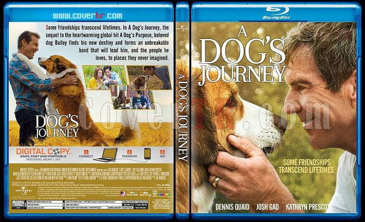 A Dog's Journey (Dostumun Yolculuğu) - Custom Bluray Cover - English [2019]-3jpg