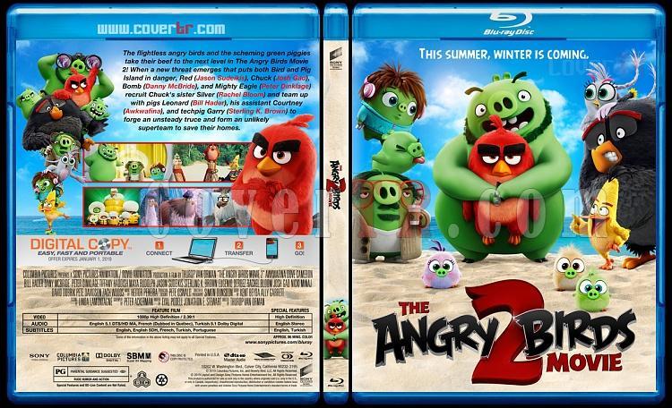 The Angry Birds Movie 2 Angry Birds Filmi 2 Custom Bluray