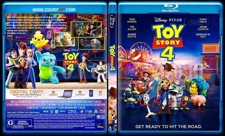 Toy Story 4 (Oyuncak Hikayesi 4) - Custom Bluray Cover - English [2019]-3jpg
