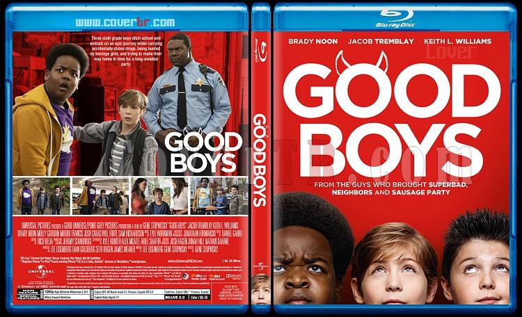 Good Boys (Uslu Çocuklar) - Custom Bluray Cover - English [2019]-2jpg