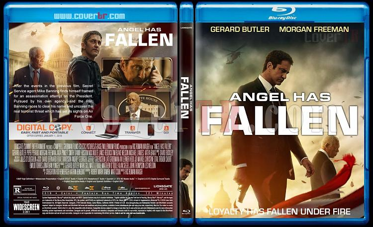 Angel Has Fallen (Kod Adı: Angel) - Custom Bluray Cover - English [2019]-1jpg