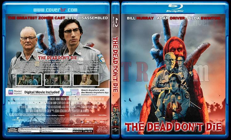 The Dead Don't Die - Custom Bluray Cover - English [2019]-02jpg
