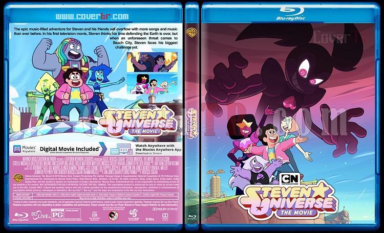 Steven Universe: The Movie - Custom Bluray Cover - English [2019]-3jpg