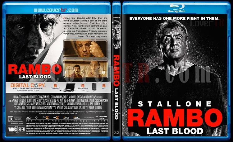 Rambo: Last Blood (Rambo: Son Kan) - Custom Bluray Cover - English [2019]-1jpg