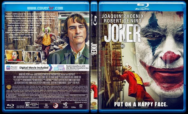 Joker - Custom Bluray Cover - English [2019]-2jpg