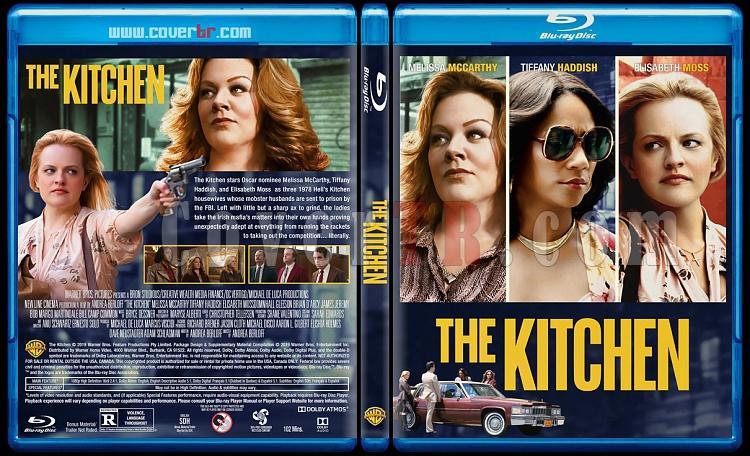 The Kitchen (Suç Kraliçeleri) - Custom Bluray Cover - English [2019]-1jpg