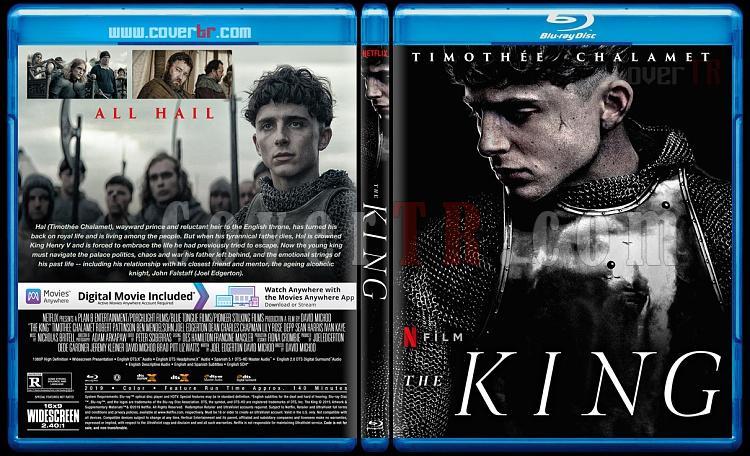 The King - Custom Bluray Cover - English [2019]-2jpg
