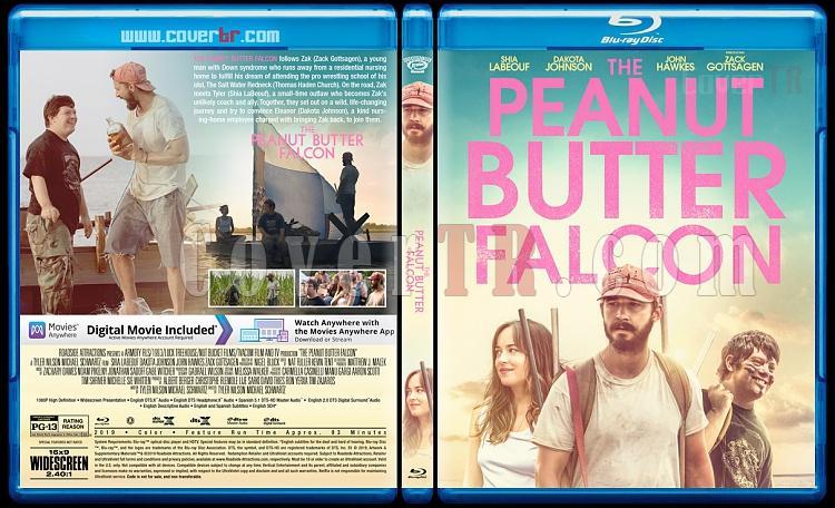 The Peanut Butter Falcon (Hayallerin Peşinde) - Custom Bluray Cover - English [2019]-3jpg