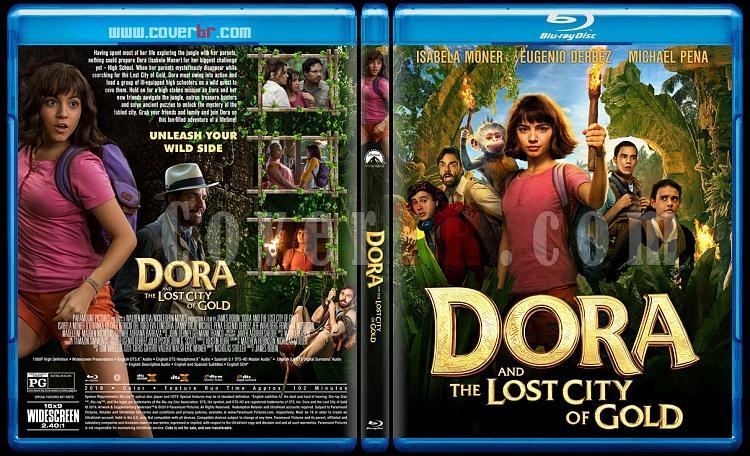 Dora and the Lost City of Gold (Dora ve Kayıp Altın Şehri) - Custom Bluray Cover - English [2019]-2jpg
