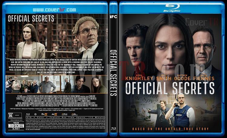 Official Secrets - Custom Bluray Cover - English [2019]-1jpg