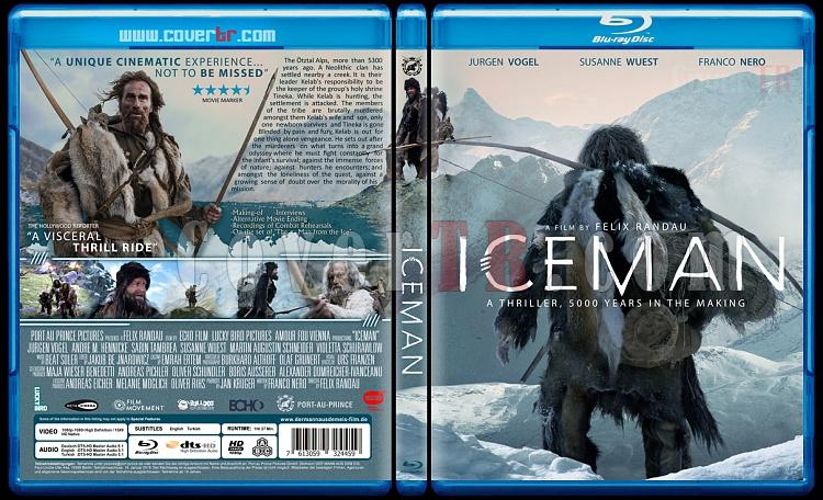 Iceman (Der Mann aus dem Eis) - Custom Bluray Cover - English [2017]-iceman-2017jpg