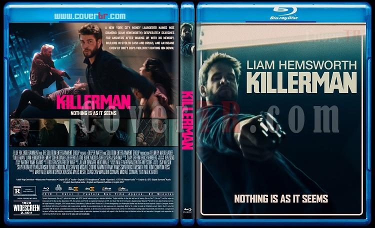 Killerman - Custom Bluray Cover - English [2019]-1jpg
