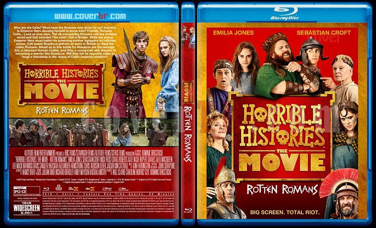 Horrible Histories: The Movie - Rotten Romans - Custom Bluray Cover - English [2019]-2jpg