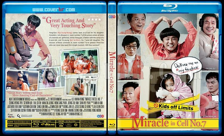 Miracle in Cell No. 7 (A Gift from Room 7) - Custom Bluray Cover - English [2013]-miracle-cell-no7-2013jpg