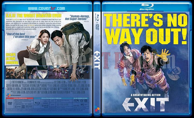 Exit (Eksiteu) - Custom Bluray Cover - English [2019]-exit-2019jpg