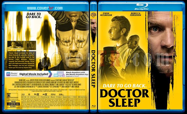 Doctor Sleep (Doktor Uyku) - Custom Bluray Cover - English [2019]-1jpg