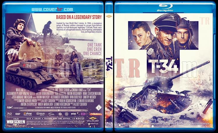 T-34 - Custom Bluray Cover - English [2018]-t-34jpg