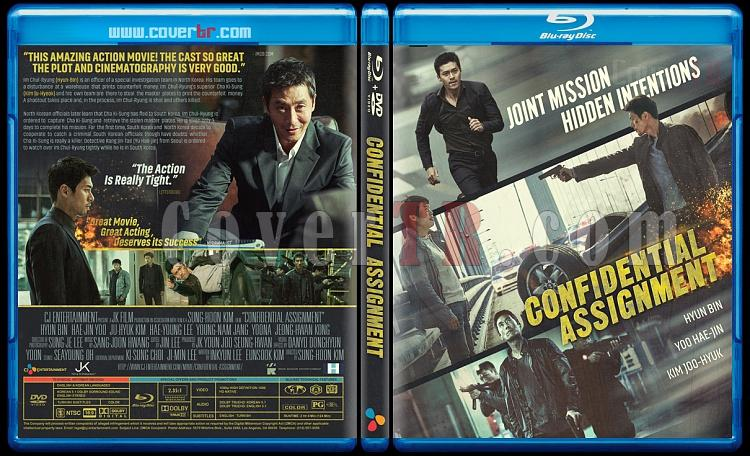 Confidential Assignment (Gongjo) - Custom Bluray Cover - English [2017]-confidential-assignment-2017jpg