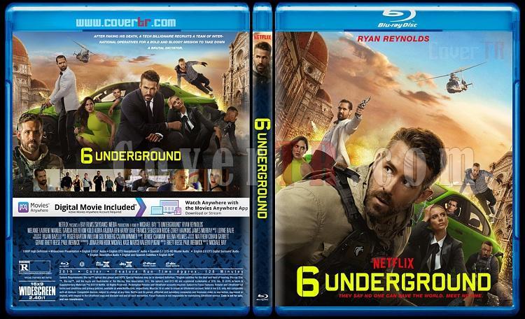 6 Underground - Custom Bluray Cover - English [2019]-1jpg