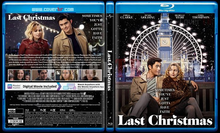 Last Christmas (Bir Şans Daha) - Custom Bluray Cover - English [2019]-2jpg